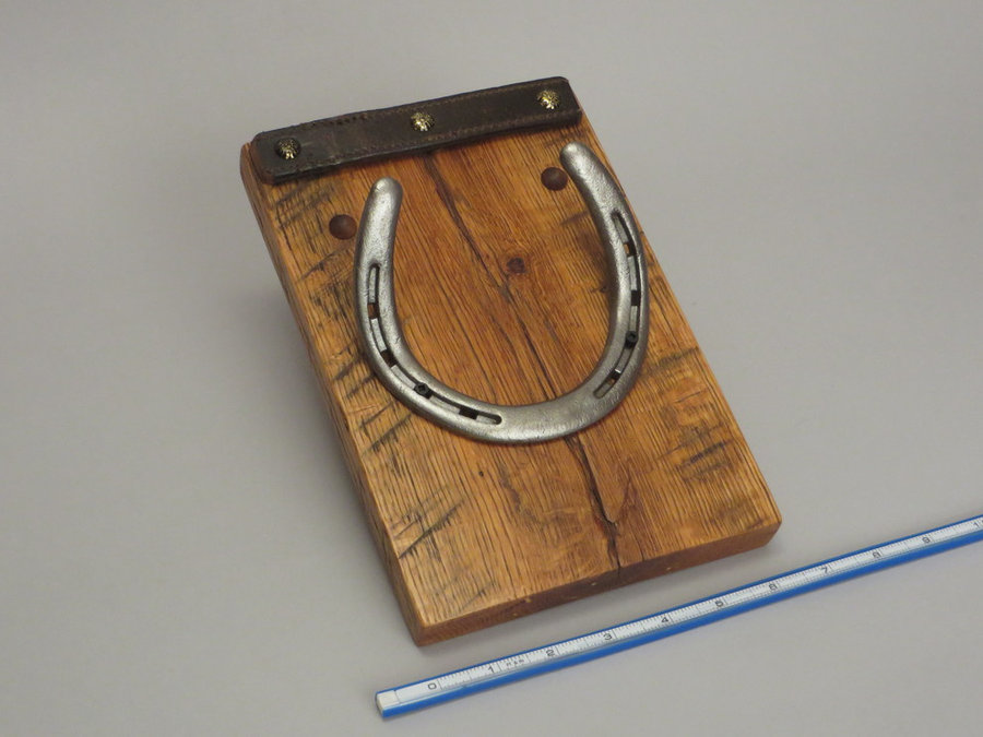 #R15099 Reclaimed Lumber, Horse Shoes, Tack Leather