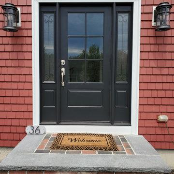 Mastic Vinyl Siding, Harvey Windows, & Therma-Tru Door, Lakeville, MA