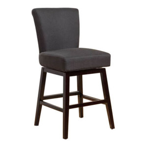 Outstanding Austria Navy Linen Barstool Transitional Bar Stools And Unemploymentrelief Wooden Chair Designs For Living Room Unemploymentrelieforg