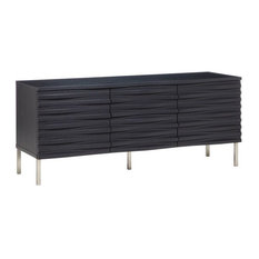 Wave Sideboard, Charcoal