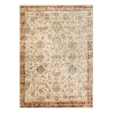 Ivory and Rust Anastasia Rug by Loloi, 12'x15'