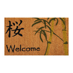 Asian Style Welcome Doormat