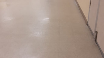Before & After Floor Stripping & Waxing in Cayce, SC