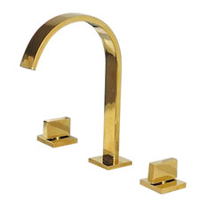 Most Popular Gold Bathroom Faucets For Houzz - Gold plated bathroom faucets