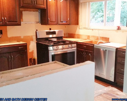Bianco Ornamental Granite Kitchen Countertop Installation In Wayne, New  Jersey,