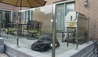 Aluminum and Tempered Glass Railings