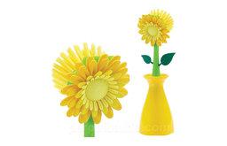 Flower Kitchen Brush & Holder