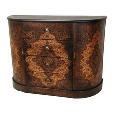 Oriental Furniture   Olde World European 4 Drawer Credenza   Buffets And  Sideboards