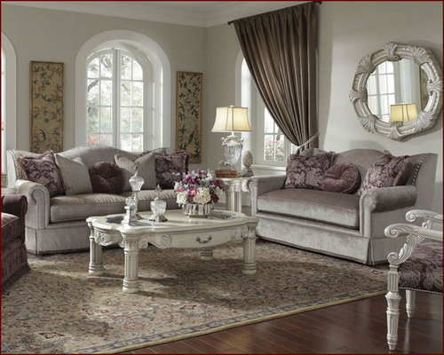 AICO Furniture   Living Room Set Monte Carlo II   AI 53815 LTMNK  Part 40