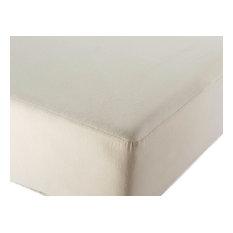 Coyuchi® Organic Flannel Mattress Protector, Twin