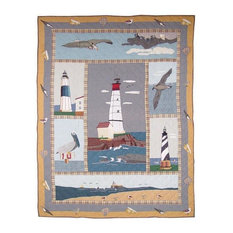 """Lighthouse By Bay Throw 50""""X60"""""""