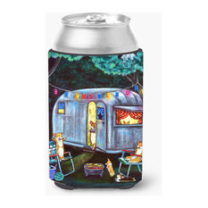 Corgi Glamping Fish Tales Trailer Can or Bottle Hugger 7435CC