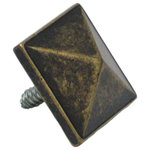 """FPL Door Locks & Hardware - Decorative Door Clavo, 1-3/8"""" X 1-3/8"""" - These decorative door studs add the perfect touch to any exterior or interior door. With a rustic distressed finish, make your doors the way you desire them to look."""