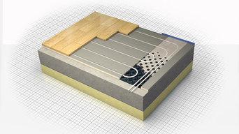 Nu-Heat LoPro™10 retrofit underfloor heating