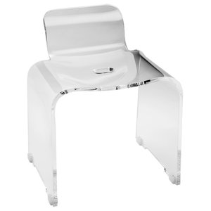 A 1 Acrylic Folding Shower Seat Wall Mounted Bench By