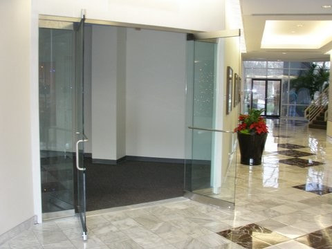 & Herculite Doors and All Glass Storefront