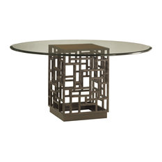 South Sea Dining Table With 54-Inch Glass Top