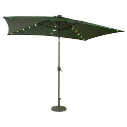 Contemporary Outdoor Umbrellas by Trademark Innovations