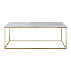Bo Living - Signet Modern Coffee Table, Gold - Coffee Tables
