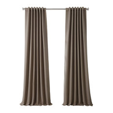 """Blackout Curtain Panel Pair, Formal Taupe, 50""""x120"""""""