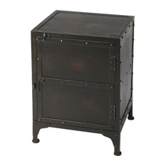 Butler Specialty Company - Owen Industrial Side Chest - Black - Accent Chests and Cabinets
