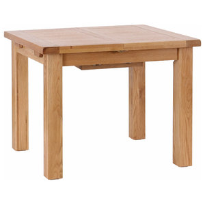 Light Oak Extendable Dining Table