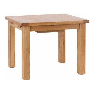Light Oak Extendable Dining Table