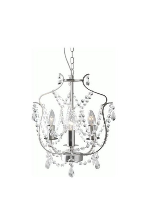Small Chandelier As Main Light Source, Chandelier For Bedroom Ikea