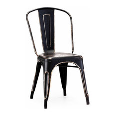 Shop Vintage Metal Dining Chairs On Houzz