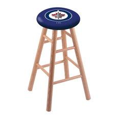 Winnipeg Jets Bar Stool Natural