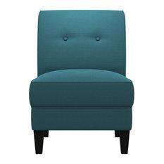 George Linen Chair Caribbean Blue
