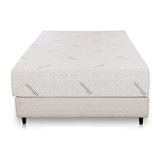 "Cr Sleep Ventilated Air Gel Memory Foam Mattress, 10"", Full"