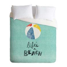 Deny Designs Nick Nelson Lifes A Beach Duvet Cover - Lightweight