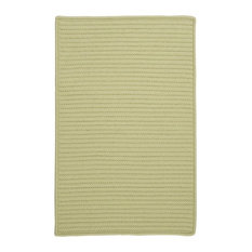 Colonial Mills, Inc - Simply Home Solid Rug, Celery 8' Square - Outdoor Rugs