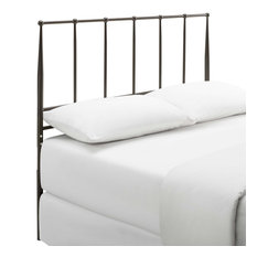 Brown Kiana Full Metal Stainless Steel Headboard