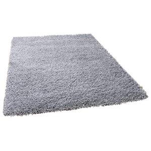 Harmony Grey Rectangle Plain/Nearly Plain Rug 60x120cm