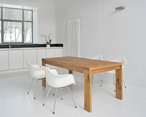 Moderne Massivholz-Esstische