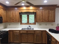 Wood trim: keep or paint white?