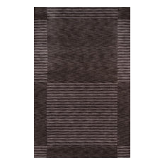 Gramercy Hand-Loomed Rugs, Carbon, 8'x11'
