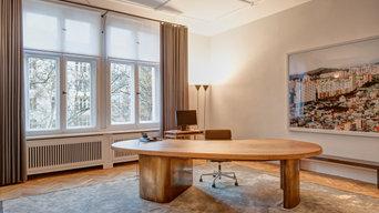 Innenausbau eines Büros