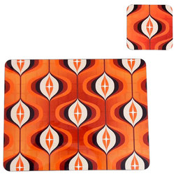 Midcentury Placemats by Inkabilly