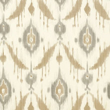 Contemporary Wallpaper by Tangletree Interiors