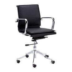 Morgan Full Back Office Chair, Onyx