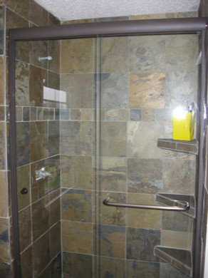 Semi Frameless Bypass Sliding Shower Doors