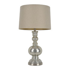 1st Avenue   Norwich Mercury Glass Table Lamp   Table Lamps