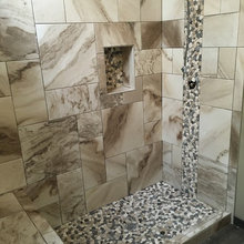 Custom Shower with Steam Unit