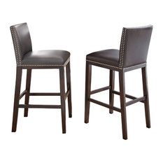 Steve Silver Co Tiffany Bar Chairs Set of 2 Bar Stools And Counter
