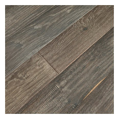 TEKA   Ebony UV Oiled Prefinished Engineered Hardwood Flooring, 22.02 Sq.  Ft.