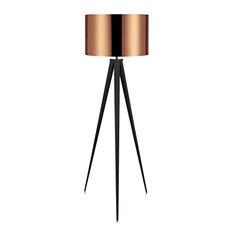 MOD - Roman Tripod Floor Lamp, Copper - Floor Lamps