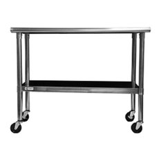 Stainless Steel Top Kitchen Prep Table